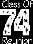 Class Of 1974 Reunion Tee Shirts