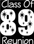 Class Of 1989 Reunion Tee Shirts