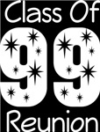Class Of 1999 Reunion Tee Shirts