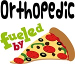 ORTHOPEDIC Funny Fueled By Pizza T-shirts