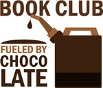 Book Club Fueled By Chocolate T-shirts