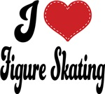 I Heart Figure Skating T-shirts and Gifts