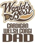 Cardigan Welsh Corgi Dad (Worlds Best) T-shirts