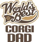 Corgi Dad (Worlds Best) T-shirts