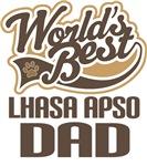 Lhasa Apso Dad (Worlds Best) T-shirts