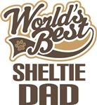 Sheltie Dad (Worlds Best) T-shirts