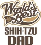 Shi-Tzu Dad (Worlds Best) T-shirts