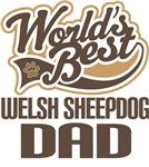 Welsh Sheepdog Dad (Worlds Best) T-shirts