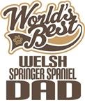 Welsh Springer Spaniel Dad (Worlds Best) Shirts