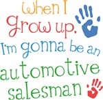 Future Automotive Salesman Kids T-shirts