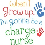 Future Charge Nurse Kids T-shirts