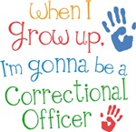 Future Correctional Officer Kids T-shirts