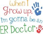 Future ER Doctor Kids T-shirts
