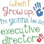 Future Executive Director Kids T-shirts
