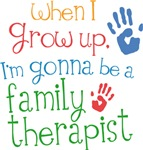 Future Family Therapist Kids T-shirts