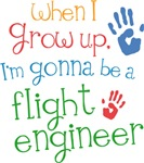 Future Flight Engineer Kids T-shirts