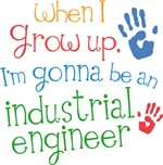 Future Industrial Engineer Kids T-shirts