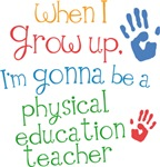 Future Physical Education Teacher Kids T-shirts