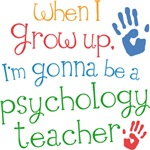 Future Psychology Teacher Kids T-shirts