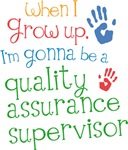 Future Quality Assurance Supervisor  Kids T-shirts