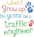 Future Traffic Engineer Kids T-shirts