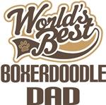 Boxerdoodle Dad (Worlds Best) T-shirts