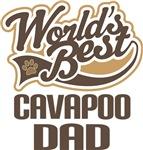 Cavapoo Dad (Worlds Best) T-shirts