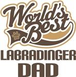 Labradinger Dad (Worlds Best) T-shirts