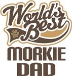Morkie Dad (Worlds Best) T-shirts