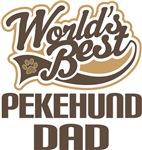 Pekehund Dad (Worlds Best) T-shirts