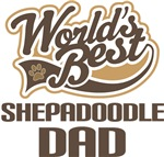 Shepadoodle Dad (Worlds Best) T-shirts