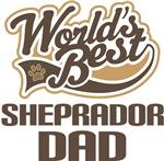Sheprador Dad (Worlds Best) T-shirts