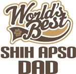 Shih Apso Dad (Worlds Best) T-shirts