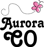 Aurora Colorado Butterfly T-shirts and Hoodies