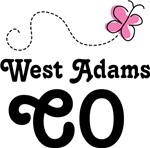 West Adams Colorado Butterfly T-shirts and Hoodies
