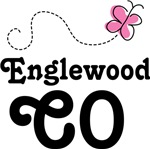 Englewood Colorado Butterfly T-shirts an