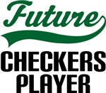 Future Checkers Player Kids T Shirts