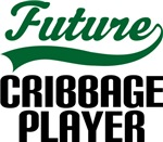 Future Cribbage Player Kids T Shirts