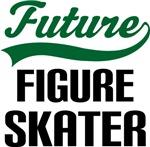 Future Figure Skater Kids T Shirts