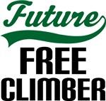Future Free Climber Kids T Shirts