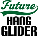Future Hang Glider Kids T Shirts