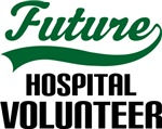Future Hospital Volunteer Kids T Shirts