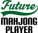 Future Mahjong Player Kids T Shirts