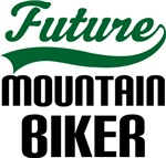 Future Mountain Biker Kids T Shirts