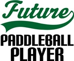 Future Paddleball Player Kids T Shirts