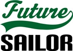 Future Sailor Kids T Shirts