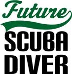 Future Scuba Diver Kids T Shirts