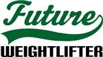 Future Weightlifter Kids T Shirts