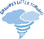 Grandpas Little Tornado Boys T-shirts