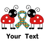 Personalized Autism Ladybug Support Gifts